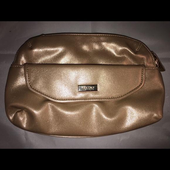 Versace Bags   Gold Clutch Makeup Bag Toiletry Purse New   Poshmark c511d6557e